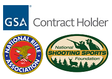 Our professional membership of NRA, NSSF, and a GSA contract holder